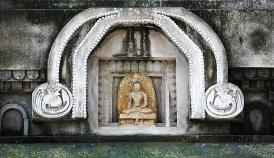 Buddha On Temple